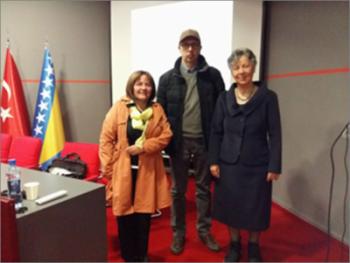 """Na Internacionalnom univerzitetu u Sarajevu održano javno predavanje prof. dr. Nüket Yetiş na temu """"Rodna neravnopravnost u visokom obrazovanju i nauci: Globalna perspektiva"""""""